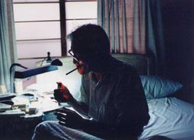 中井英夫(本多正一『彗星との日々』より)